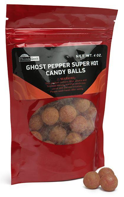 Ghost Pepper Balls, $10 Since just about all hackers have more than a little rascal in 'em, we'd be remiss if we didn't include a gift that would be excellent for pranking, daring, and other hijinks. These little fireballs pack a huge wallop in the spicy category.