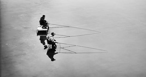 Image Source: 'The Fishing Man,' by Peng Zhang. Some rights reserved.