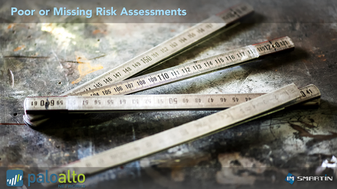 Blame Poor or Missing Risk Assessments Rick Howard, CSO, Palo Alto Networks  'One of the reasons the blame game exists in information security is that as a community, network defenders are horrible at assessing risk. The tendency is for network defenders to assess risk as either high, medium or low based on experience. But, if we are asked to defend our assessments by C-Level executives or board members, there usually is not a lot of precision underneath the first layer of spreadsheets.'  This is beginning to change though. At this year's Cybersecurity Canon Awards Ceremony, Jack Freund and Jack Jones were inducted into the Hall of Fame for their book: 'Measuring and Managing Information Risk: A FAIR Approach.' I believe this book is the future for the network defender community. It provides a methodology to assess risk with enough rigor that if a C-Level executive or board member asked for details about the assessment, the math behind the assessment is non-refutable.'  Image Source: imsmartin / Palo Alto Networks