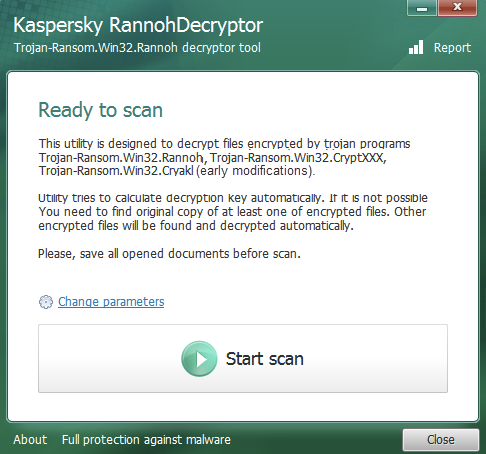 1. Rannoh Decrypter