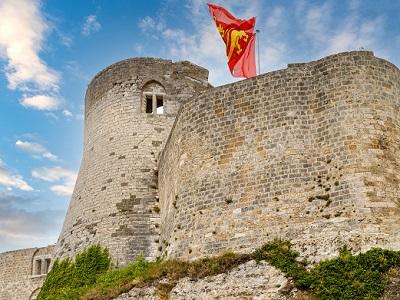 Chateau Gaillard. Crédito: Telly a través de Adobe Stock