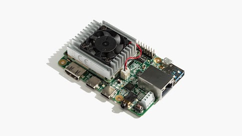 Google Coral Very small computers with surprising computing power are changing the face of AI learning and research. One recent entry to the category is the Coral Dev Board by Google. The Coral Dev Board contains a Google Edge TPU module - a very small (three will easily fit on a penny), low-power-consumption chip that is Google's answer to providing basic AI capabilities to low-power edge devices. An Edge TPU is optimized for running TensorFlow Lite, the version of Google's AI development language intended for execution on edge and Internet of Things (IoT) devices. It contains an application-specific integrated circuit (ASIC) designed to run TensorFlow. The Coral Dev Board is actually a stack of boards, with a base board featuring an ARM Cortex A53, topped by the Edge TPU board and a USB accelerator board. The board's design also allows for expansion to include additional boards with other capabilities. The Coral Dev Board is available from numerous electronics sources for about $149. (Image: Google Coral)