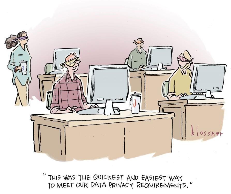 Cartoon Caption Winner: Sight Unseen