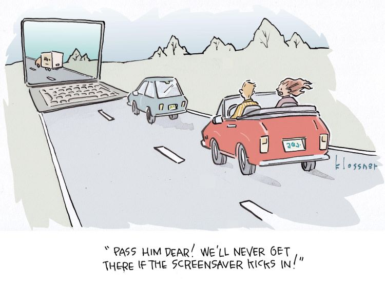 Cartoon Caption Winner: Road Trip