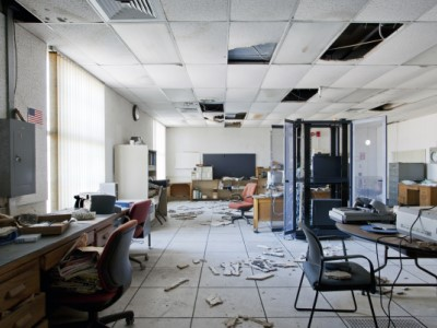 Ghost Town Security: What Threats Lurk in Abandoned Offices?