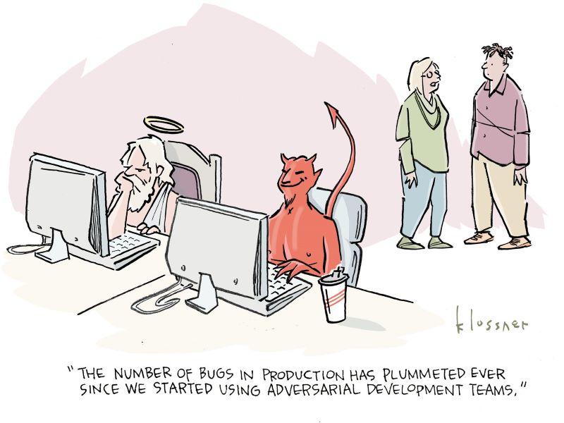 Cartoon Caption Winner: Be Careful Who You Trust