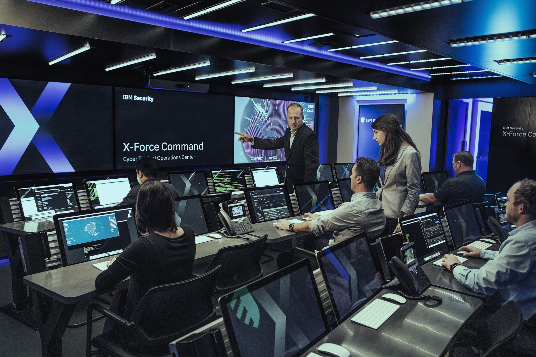 (Inside the CTOC. Image: IBM)