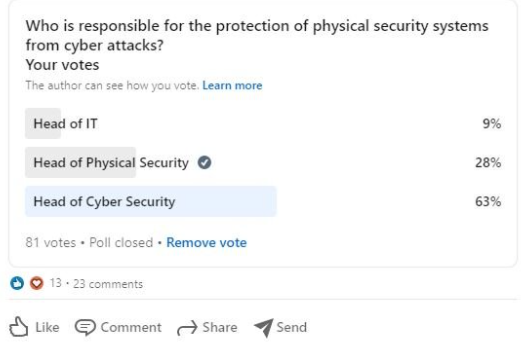 Who Is Responsible for Protecting Physical Security Systems From Cyberattacks?