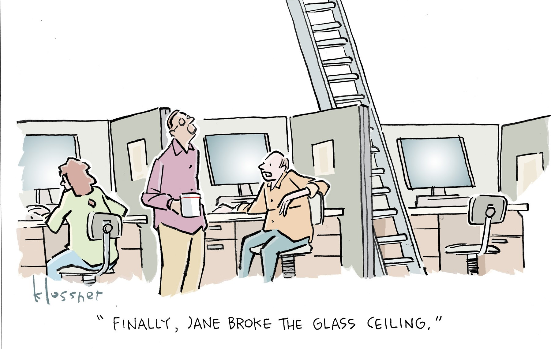 Staircase to the Cloud: Dark Reading Caption Contest Winners