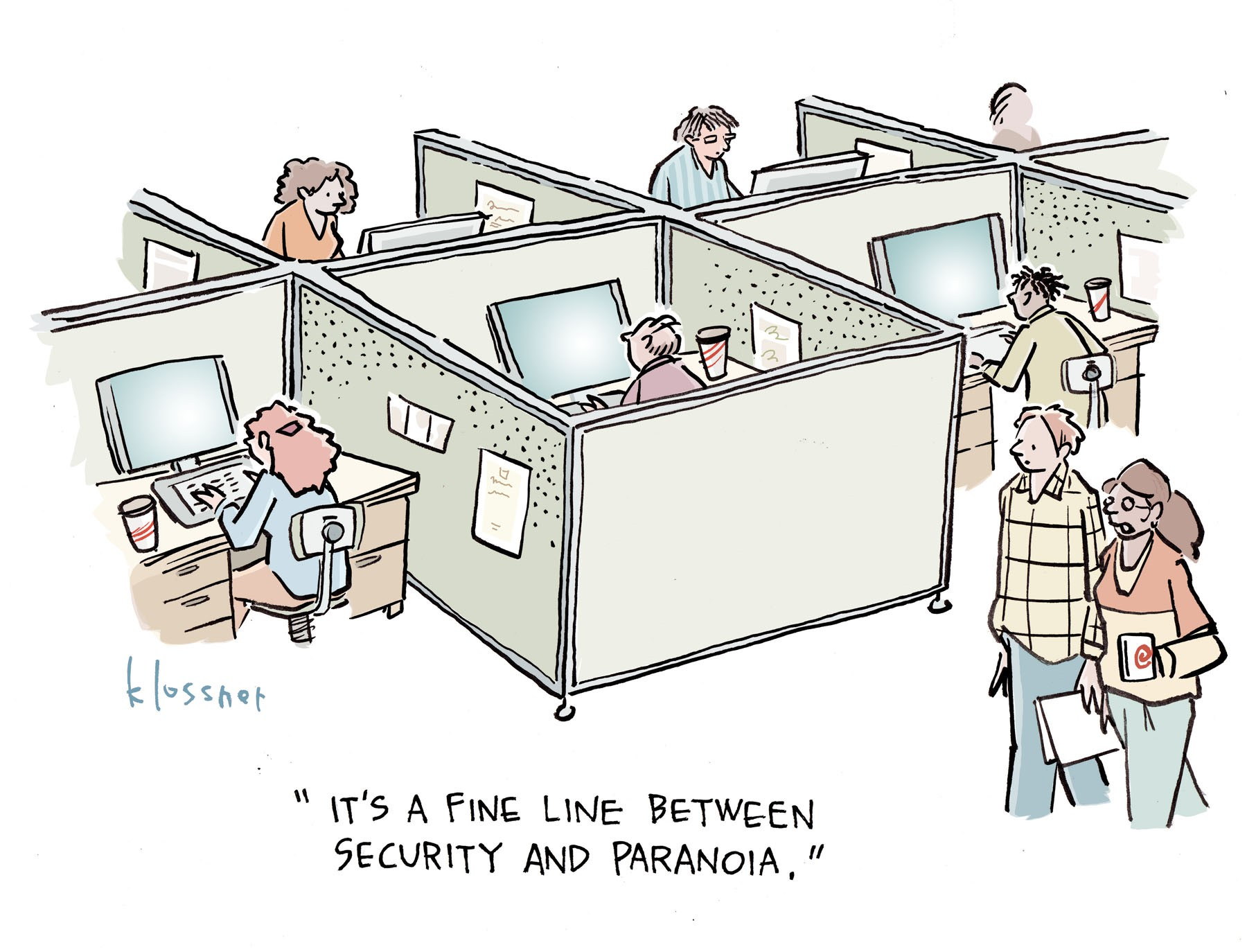 Cartoon: The Cyber Mindset