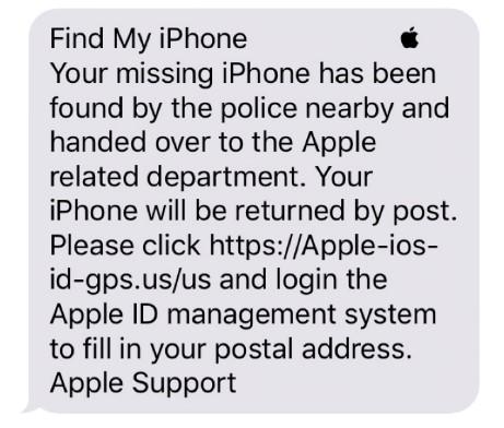 Deconstructing an iPhone Spearphishing Attack