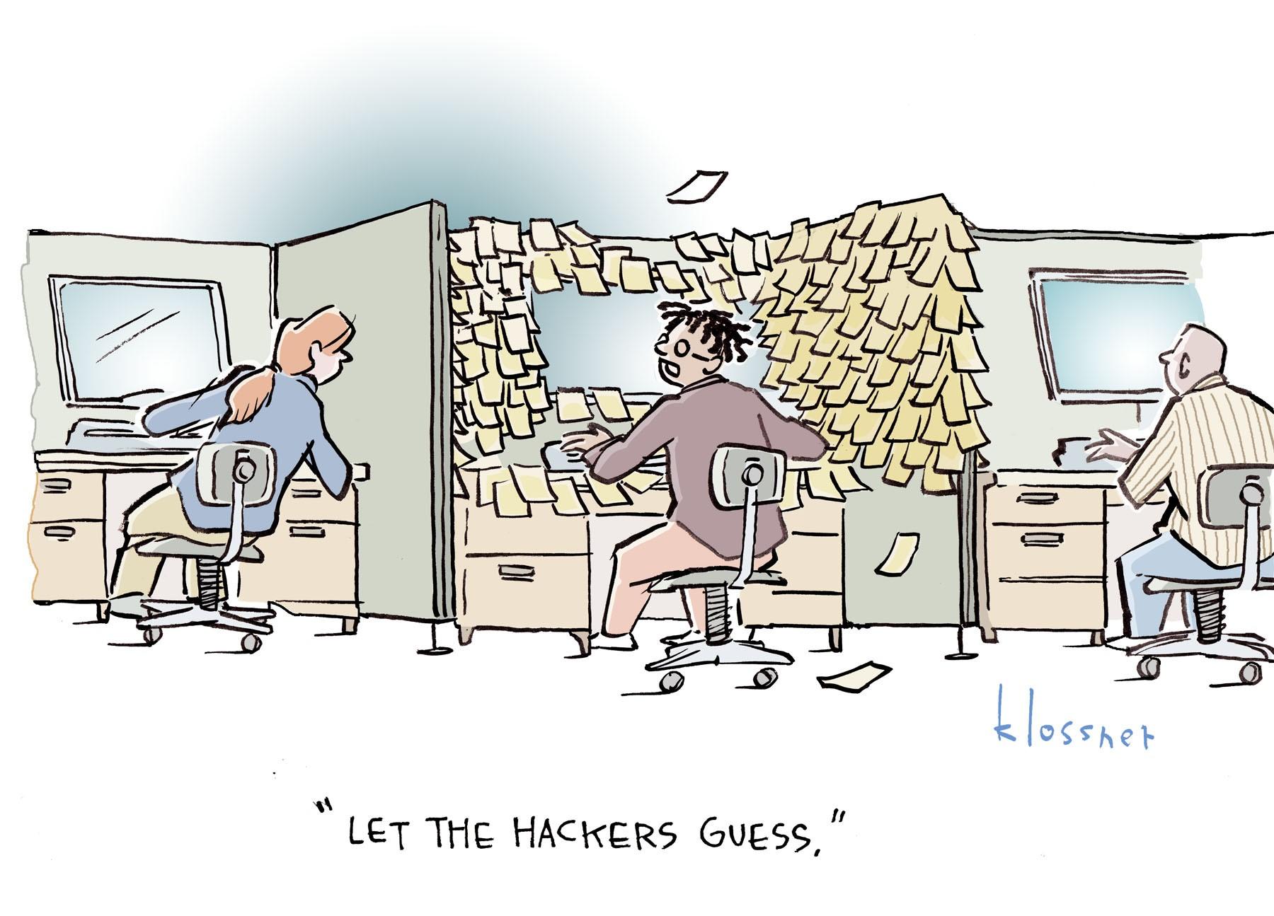 Cartoon: Identity Theft Mitigation