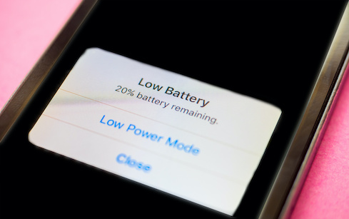 Sudden Loss of Battery Life