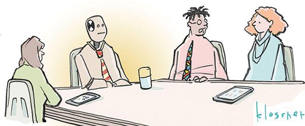The Edge Cartoon Caption Contest: Latest Winners, New Toon 'Like a Boss'