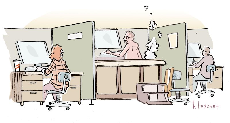Cartoon Caption Winner: In Hot Water