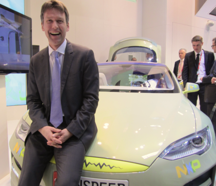 Lars Reger, VP, strategy, new business, and R&D for automotive at NXP