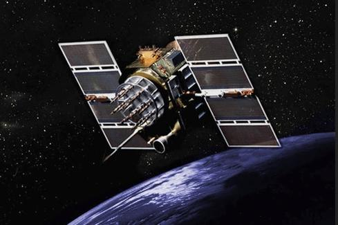 GPS Block II/IIA satellite.(Source: GPS.gov)