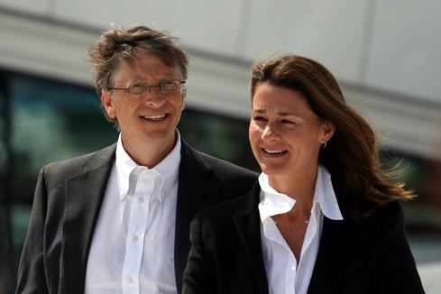 Bill and Melinda Gates in 2009.(Source: Wikipedia)
