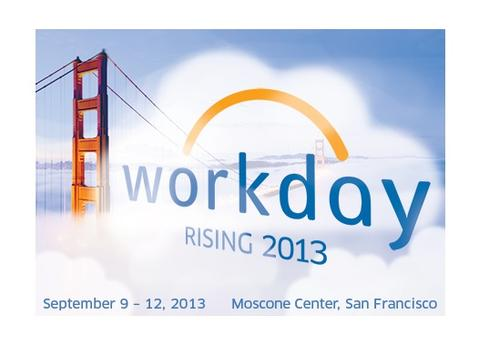Workday's Rising 2013 customer conference had more than 3,500 attendees.