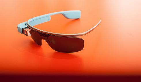 Google Glass. (Source: Flickr user Giuseppe Costantino.)