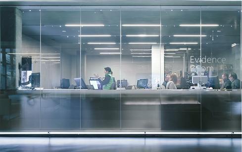 Microsoft's new Cyber Crime Center. (Photo: Microsoft)