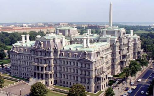Eisenhower Executive Office Building (Source: Wikimedia Commons)