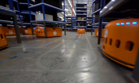 If you work for an Amazon fulfillment center, you've already seen the future: scurrying little robots that carry racks of packages to and fro. Kiva Systems, the maker of Amazon's bots, is hiring systems support engineers. However, the educational requirements appear to be substantial. Maybe they'll accept a philosophy degree.