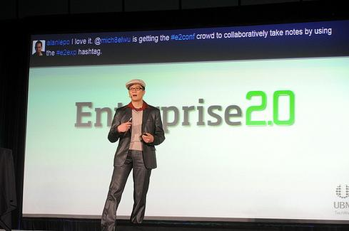 Michael Wu at Enterprise 2.0.