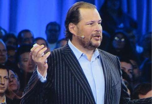 Marc Benioff kicks off the Salesforce1 World Tour in New York.