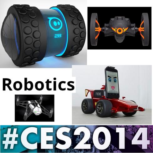 CES 2014: 8 Radical Robots