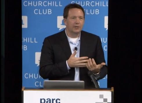 Federal CIO Steven VanRoekel speaking at Churchill Club in October 2011. (Source: TechwireNet - YouTube)