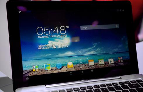 The Asus Transformer Book Duet is the first device to integrate Intel's dual OS chip.