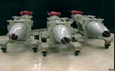 B61 nuclear bombs. (Source: National Nuclear Security Administration)