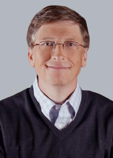 Microsoft chairman Bill Gates.
