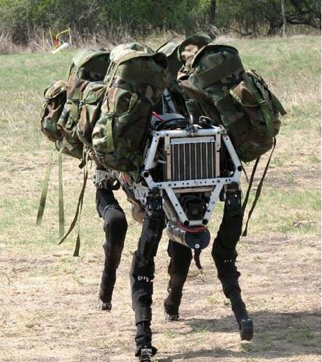 DARPA tests Big Dog quadruped robot. (Source: DARPA)