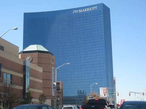 White Lodging-owned JW Marriott Indianapolis. (Credit: Wikimedia Commons.