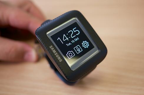 Samsung's Galaxy Gear smartwatch