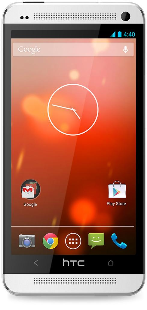 HTC One, like all Android devices, ships with Google Search, Maps, and YouTube.