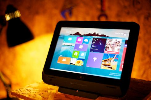 Smaller Windows tablets can run Office, but limited screen real estate poses a problem.