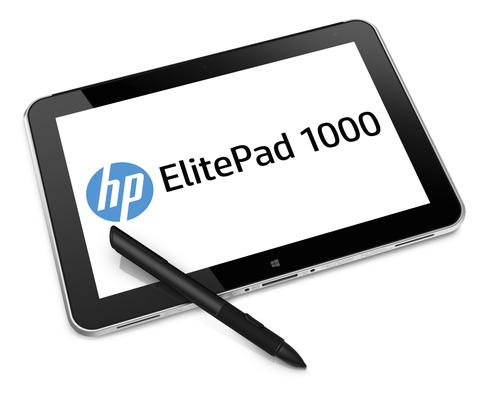 HP's ElitePad 1000 works with an optional stylus.
