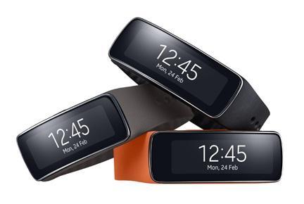 Samsung Gear Fit.(Source: Samsung)
