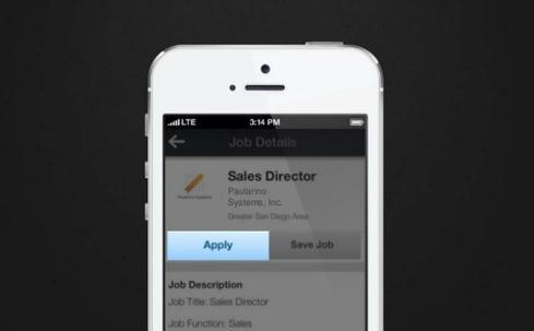 4. Search and apply for jobs on the go.  Take advantage of in-between moments -- at the doctor's office or during the commute to work, for example -- to search for, save, and apply for jobs that interest you.  To get started, open your LinkedIn mobile app and click the Jobs tab to search for a position. Every job listing will offer the option to either Apply or Save for later. Some may have an Apply On Company Website button instead; in these cases, the company requires you to apply on its corporate career site.  Once you click Apply, LinkedIn will let you know if parts of your profile are incomplete. You can edit your profile directly from the app before submitting your information. If your profile is already up to date, click the blue Next button on the top.  The final screen will prompt you to confirm your contact information, including your email address and phone number. Complete the application process by tapping the Submit button.