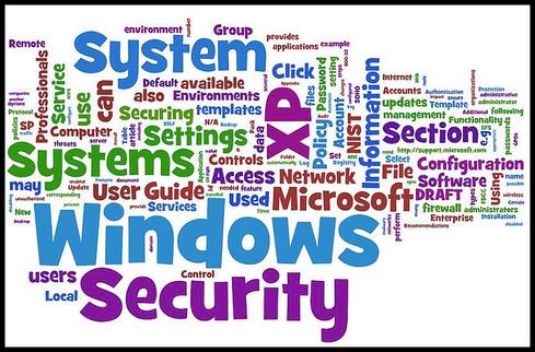 Graphic from NIST Draft 'Guide to Securing Microsoft Windows XP Systems for IT Professionals.'