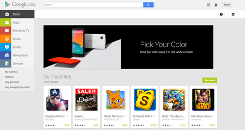 Google Play.