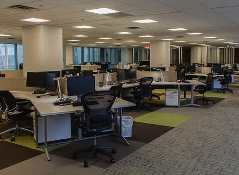 By creating on-demand, wirelessly enabled work spaces, GSA increased the number of employees who work out of its headquarters building from 2,200 to 3,300. (Source: GSA)