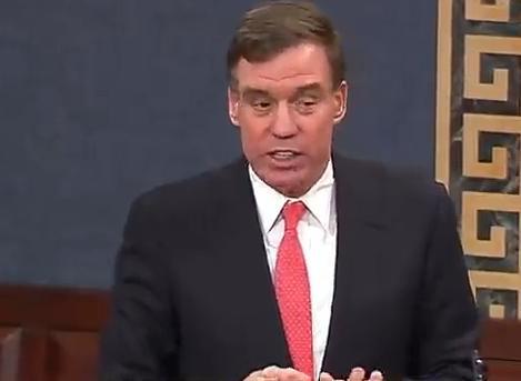 Senator Mark Warner (Image: via C-SPAN)