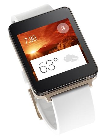 LG's smartwatch (Image: LG)