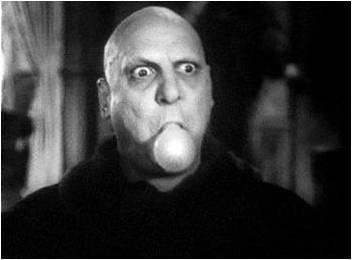 10. Landed role as Uncle Fester in road company production of The Addams Family.