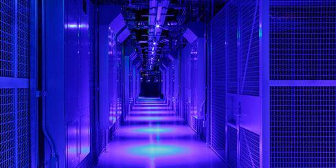 Equinix's Seattle datacenter.