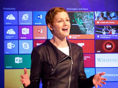Microsoft Office General Manager Julia White